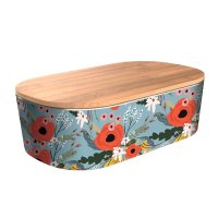 "Bamboofriends Lunchbox Deluxe ""Rustic Flowers"" Chic.Mic"