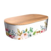 "Bamboofriends Lunchbox Deluxe ""Romantic Flowers"" Chic.Mic"