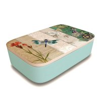 "Bamboofriends Lunchbox ""Dragonfly Collage"" Chic.Mic"