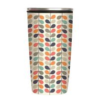 "Slide Cup ""Rows of Leaves"" Bamboo Cup Deluxe von Chic.Mic"