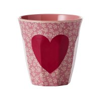 "Rice Melamin Becher ""Heart"""