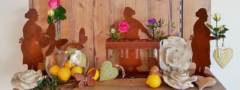 Kunstschmiede neumeier burgau rostige figuren tiere for Deko rost weihnachten