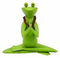 Yoga Metall Frosch