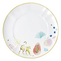 Rice Everyday Magic Porzellan Dinner Plate mit Monkey Print