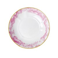 Rice Pasta Soup Bowl Marble Pink