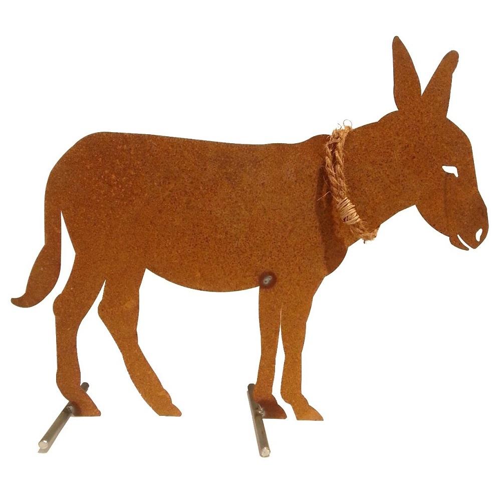 Kunstschmiede neumeier burgau rostige ziege steinbock for Tiere aus rostigem metall