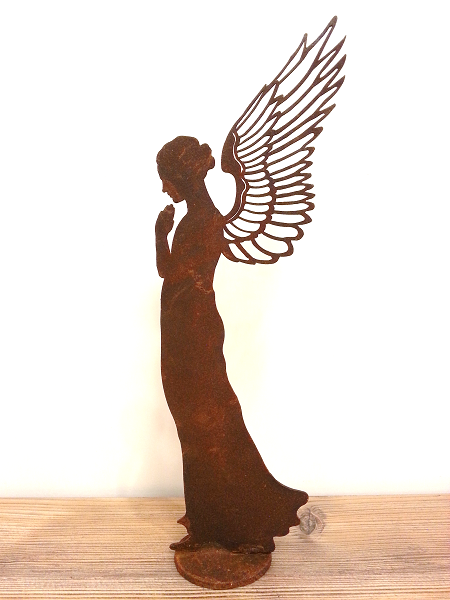kunstschmiede neumeier burgau rostige engel rostige. Black Bedroom Furniture Sets. Home Design Ideas