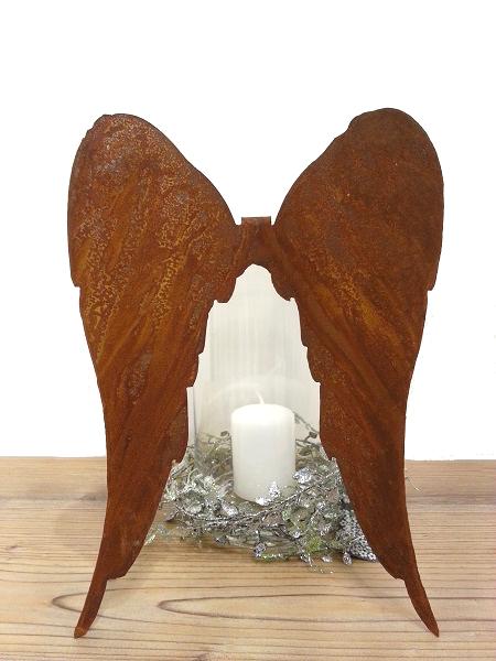 kunstschmiede neumeier burgau rostige engel rostige fl gel. Black Bedroom Furniture Sets. Home Design Ideas