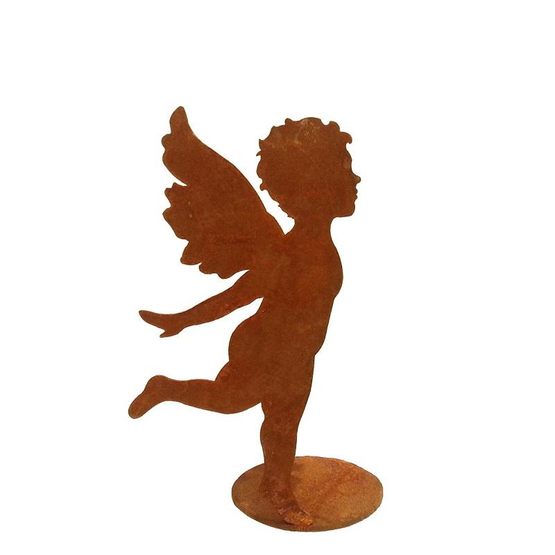 Kunstschmiede neumeier burgau rostige engel rostige for Engel edelrost