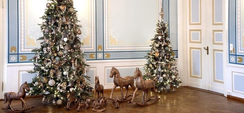 Bauernsilber Christbaumkugeln.Kunstschmiede Neumeier Burgau Christbaumkugeln Weihnachtsschmuck